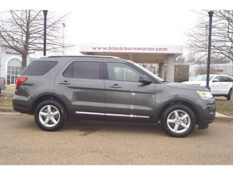 2018 Ford Explorer for sale at BLACKBURN MOTOR CO in Vicksburg MS