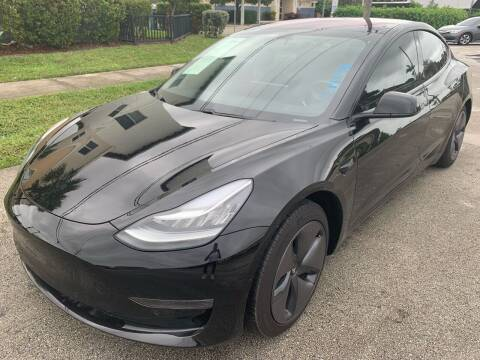 2018 Tesla Model 3 for sale at Eden Cars Inc in Hollywood FL