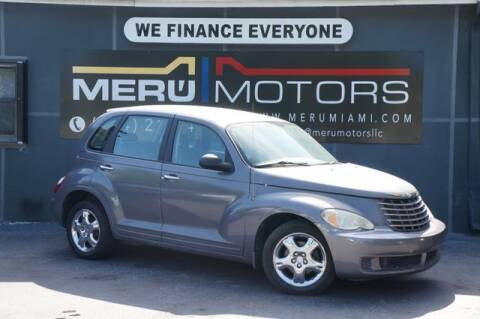 2007 Chrysler PT Cruiser for sale at Meru Motors in Hollywood FL