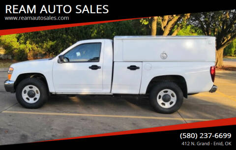 2012 Chevrolet Colorado for sale at REAM AUTO SALES in Enid OK