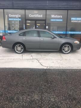 2009 Chevrolet Impala for sale at Georgia Certified Motors in Stockbridge GA