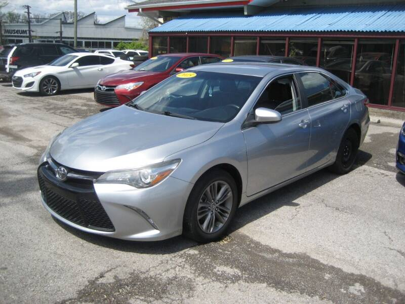 2015 Toyota Camry for sale at Import Auto Connection in Nashville TN