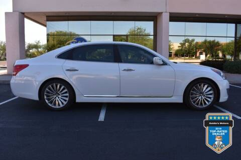 2014 Hyundai Equus for sale at GOLDIES MOTORS in Phoenix AZ