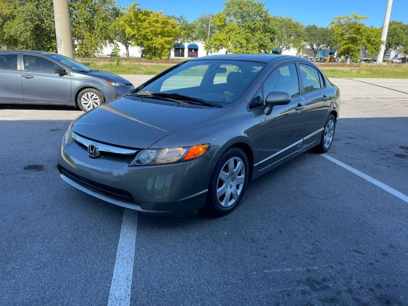 2008 Honda Civic for sale at UNITED AUTO BROKERS in Hollywood FL