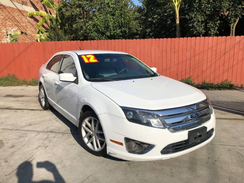 2012 Ford Fusion for sale at The Lot Auto Sales in Long Beach CA