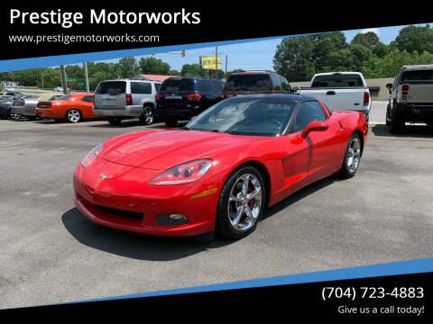 2006 Chevrolet Corvette for sale at Prestige Motorworks in Concord NC