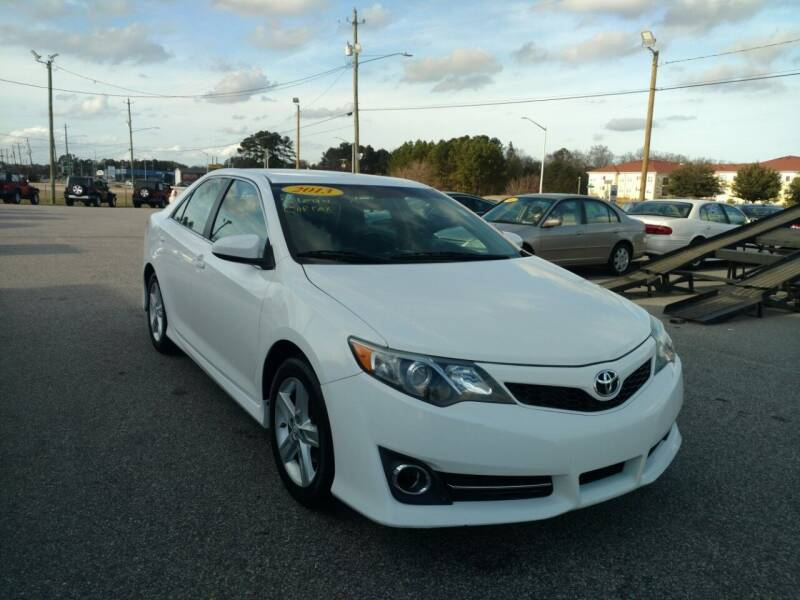 2013 Toyota Camry for sale at Kelly & Kelly Supermarket of Cars in Fayetteville NC