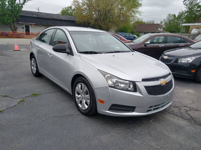 2012 Chevrolet Cruze for sale at I Car Motors in Joliet IL
