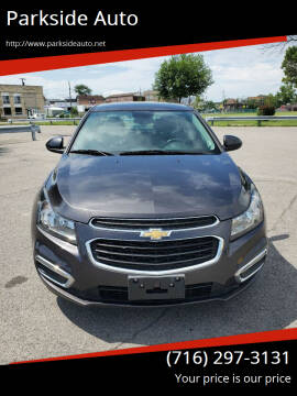 2016 Chevrolet Cruze Limited for sale at Parkside Auto in Niagara Falls NY