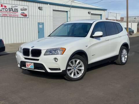 2013 BMW X3 for sale at SUPER AUTO SALES STOCKTON in Stockton CA