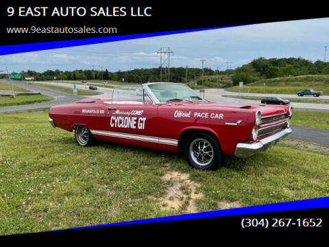 1966 Mercury Cyclone for sale at 9 EAST AUTO SALES LLC in Martinsburg WV