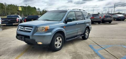 2007 Honda Pilot for sale at WHOLESALE AUTO GROUP in Mobile AL