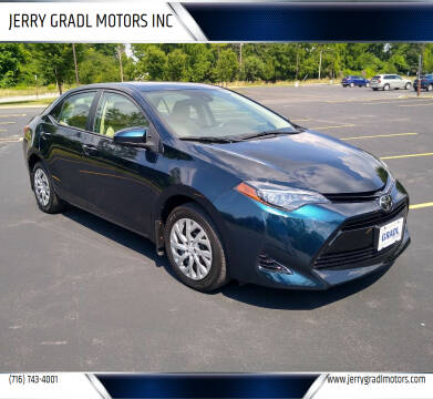 2017 Toyota Corolla for sale at JERRY GRADL MOTORS INC in North Tonawanda NY