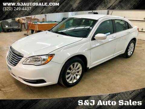 2012 Chrysler 200 for sale at S&J Auto Sales in South Haven MN