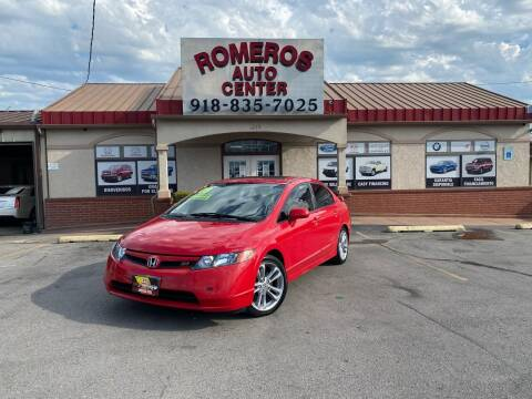 2008 Honda Civic for sale at Romeros Auto Center in Tulsa OK