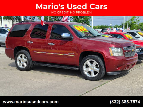 2009 Chevrolet Tahoe for sale at Mario's Used Cars in Houston TX