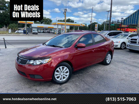 2012 Kia Forte for sale at Hot Deals On Wheels in Tampa FL