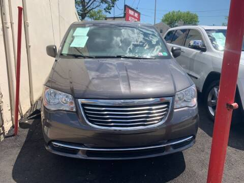 2015 Chrysler Town and Country for sale at Park Avenue Auto Lot Inc in Linden NJ
