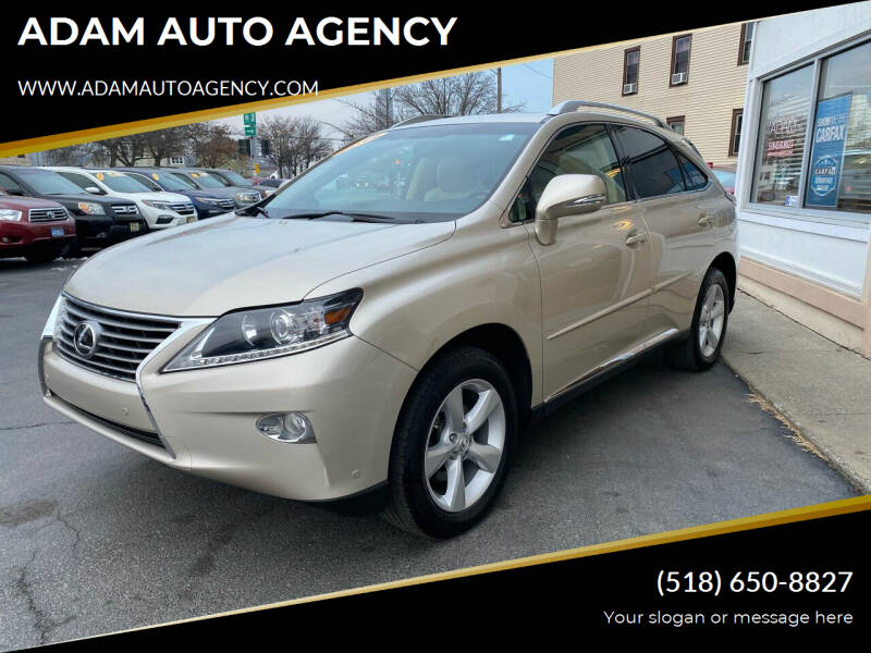 2014 Lexus RX 350 for sale at ADAM AUTO AGENCY in Rensselaer NY