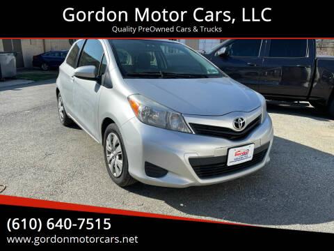 2014 Toyota Yaris for sale at Gordon Motor Cars, LLC in Frazer PA