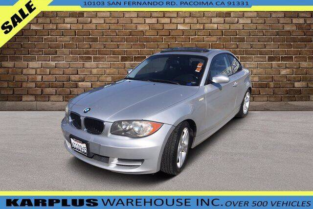 2008 BMW 1 Series for sale at Karplus Warehouse in Pacoima CA