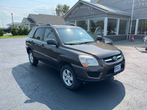 2009 Kia Sportage for sale at Empire Alliance Inc. in West Coxsackie NY