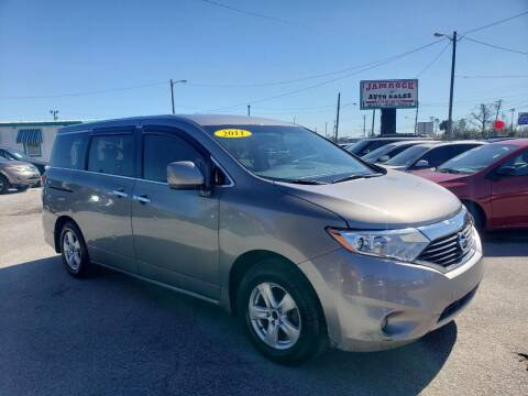 2011 Nissan Quest for sale at Jamrock Auto Sales of Panama City in Panama City FL