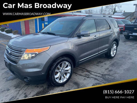 2012 Ford Explorer for sale at Car Mas Broadway in Crest Hill IL
