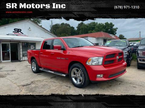 2011 RAM Ram Pickup 1500 for sale at SR Motors Inc in Gainesville GA