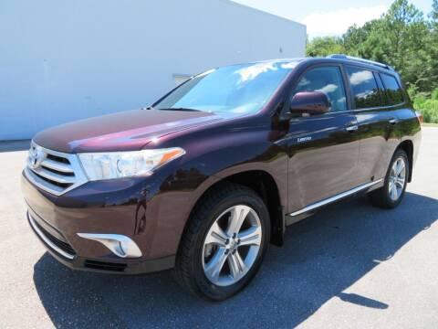 2013 Toyota Highlander for sale at Access Motors Co in Mobile AL