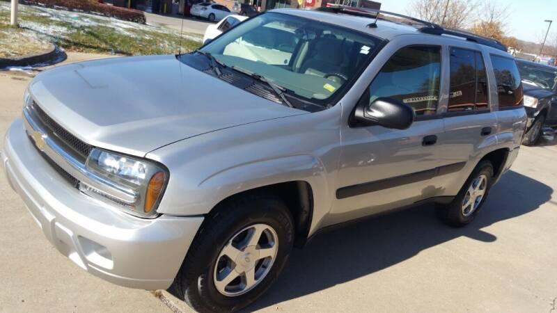 2005 Chevrolet TrailBlazer for sale at Alpha Motors in Kansas City MO