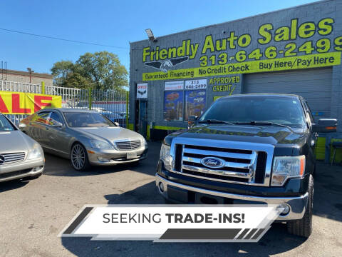 2010 Ford F-150 for sale at Friendly Auto Sales in Detroit MI