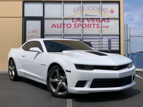 2014 Chevrolet Camaro for sale at Las Vegas Auto Sports in Las Vegas NV