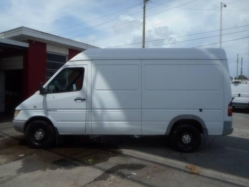 2003 Dodge Sprinter Cargo for sale at Florida Suncoast Auto Brokers in Palm Harbor FL