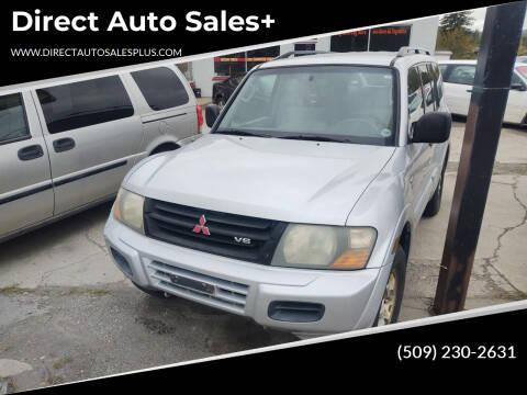 2001 Mitsubishi Montero for sale at Direct Auto Sales+ in Spokane Valley WA