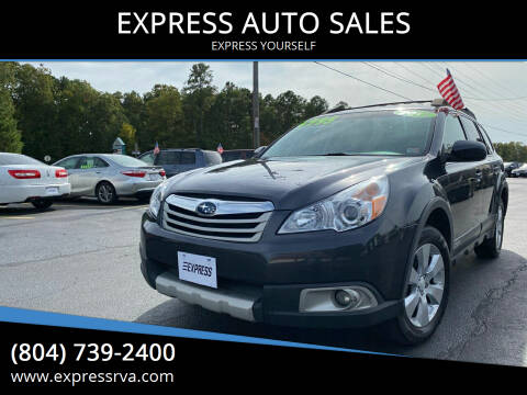 2011 Subaru Outback for sale at EXPRESS AUTO SALES in Midlothian VA
