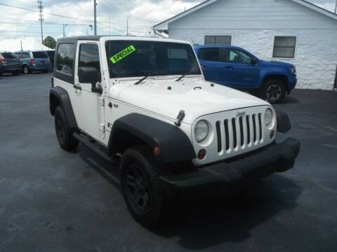 2008 Jeep Wrangler for sale at Morelock Motors INC in Maryville TN