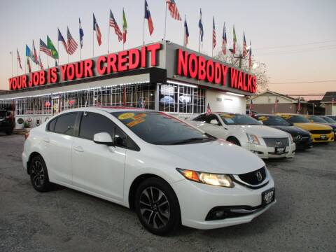 2013 Honda Civic for sale at Giant Auto Mart 2 in Houston TX