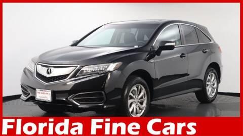 2016 Acura RDX for sale at Florida Fine Cars - West Palm Beach in West Palm Beach FL