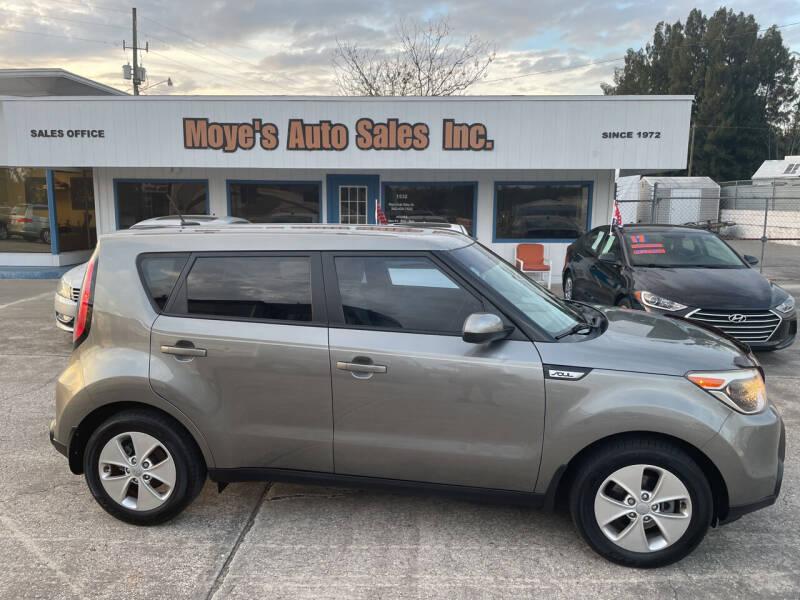 2015 Kia Soul for sale at Moye's Auto Sales Inc. in Leesburg FL