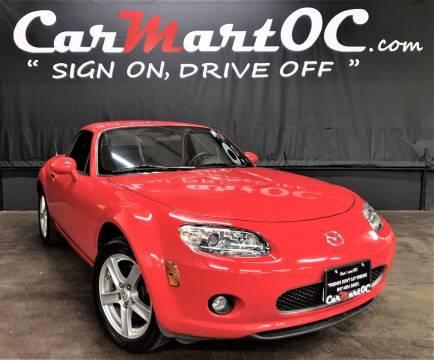 2008 Mazda MX-5 Miata for sale at CarMart OC in Costa Mesa CA