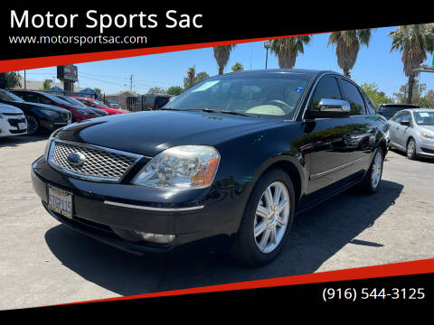 2006 Ford Five Hundred for sale at Motor Sports Sac in Sacramento CA