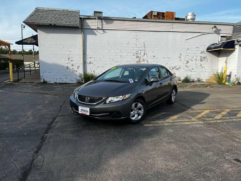 2013 Honda Civic for sale at Santa Motors Inc in Rochester NY