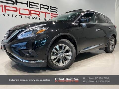 2018 Nissan Murano for sale at Fishers Imports in Fishers IN