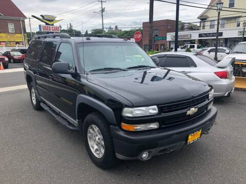 2004 Chevrolet Suburban for sale at Bel Air Auto Sales in Milford CT