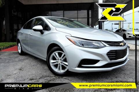 2016 Chevrolet Cruze for sale at Premium Cars of Miami in Miami FL