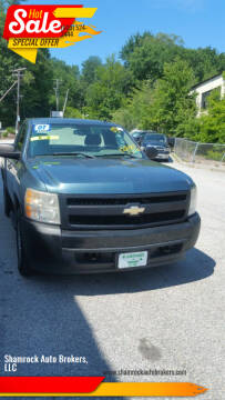 2007 Chevrolet Silverado 1500 Classic for sale at Shamrock Auto Brokers, LLC in Belmont NH
