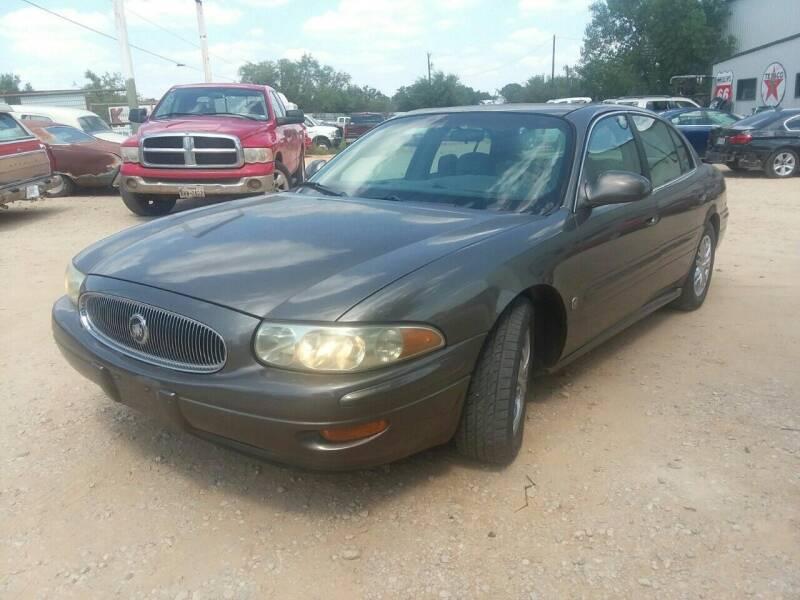 2001 Buick LeSabre for sale at KK Motors Inc - Parts Cars in Graham TX