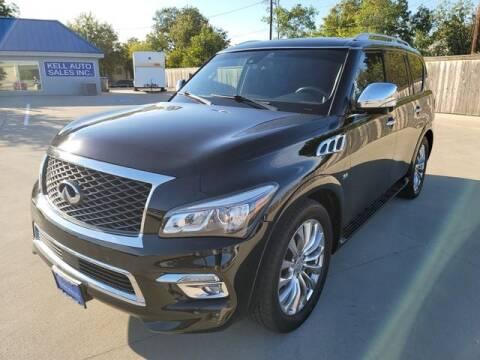 2015 Infiniti QX80 for sale at Kell Auto Sales, Inc in Wichita Falls TX