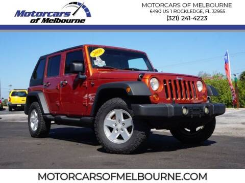 2009 Jeep Wrangler Unlimited for sale at Motorcars of Melbourne in Rockledge FL